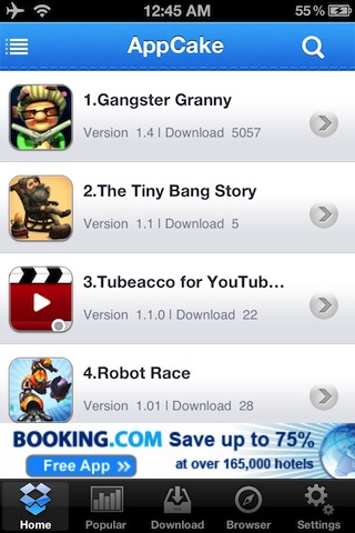 AppCake iPhone
