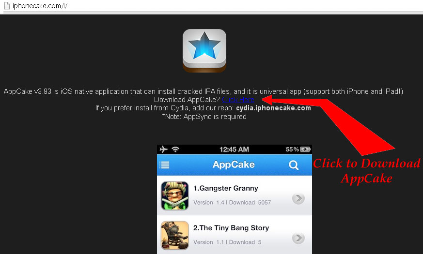download appcake