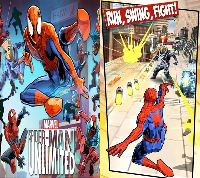 Spider-Man Unlimited-Screenshot-1