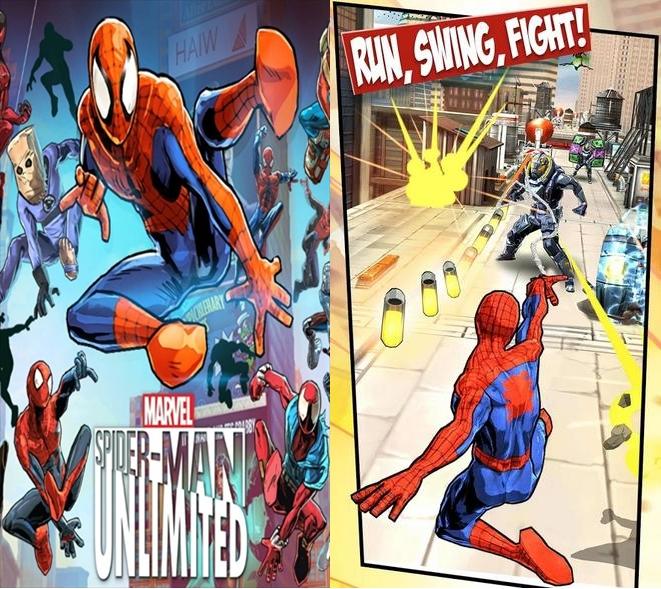Spider-Man Unlimited-Screenshot-1
