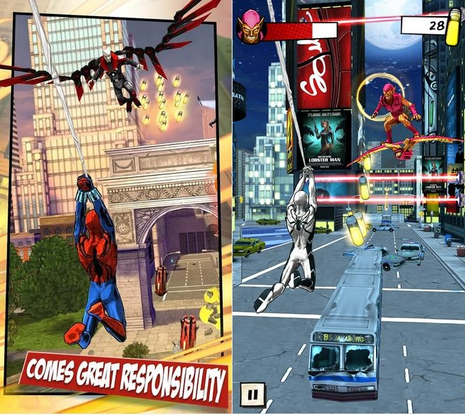 Spider-Man Unlimited-Screenshot-3