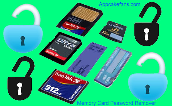 memory card password recover
