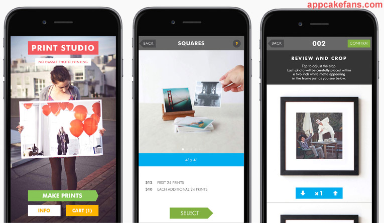 Print Studio Instagram app