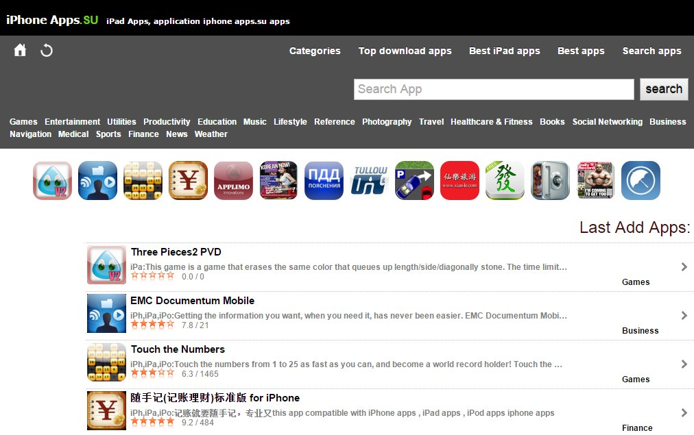 apps.su iOS cracked apps