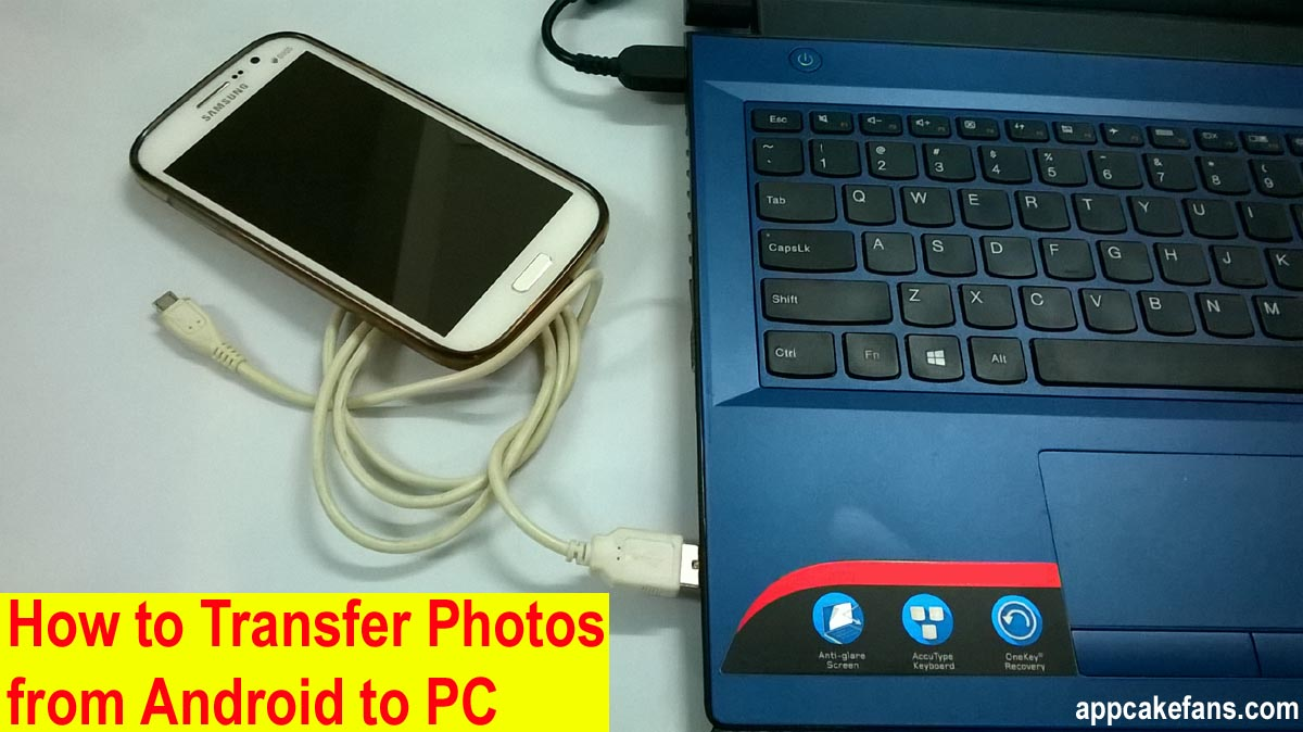Transfer Photos from Android to PC