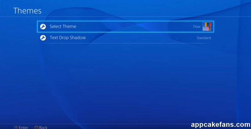 Set Wallpaper on PlayStation