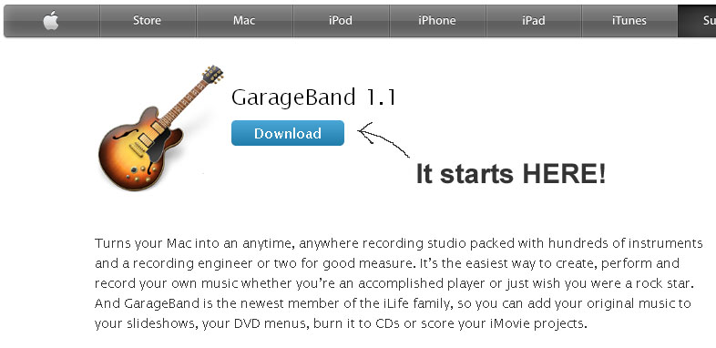 download garageband
