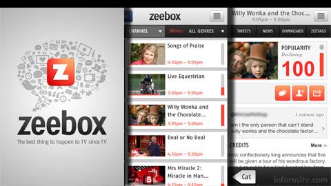 Zeebox app