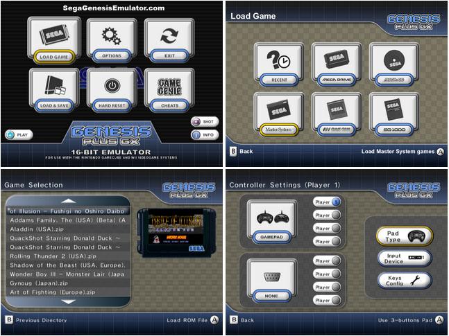 Genesis Plus GX Sega emulator